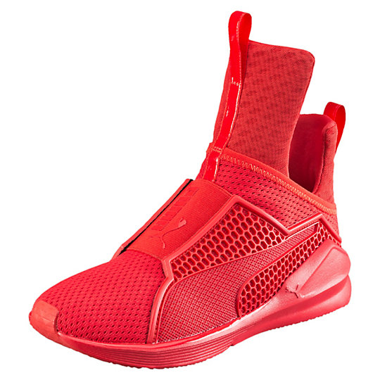 Puma THE TRAINER SHOES high risk red-high risk red