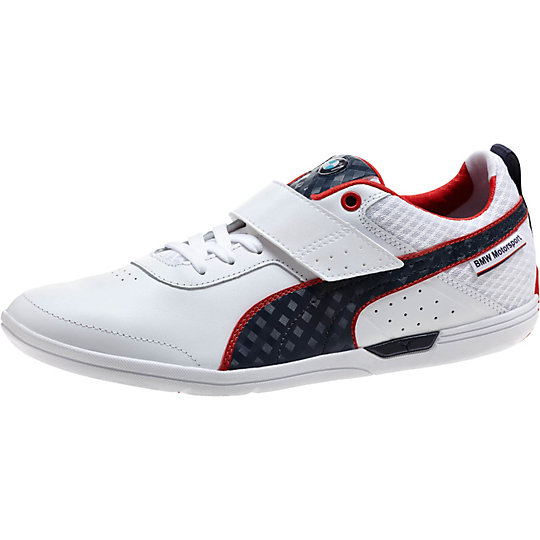 Puma BMW MS MCH LO SNEAKERS white-bmw team blue-high risk red