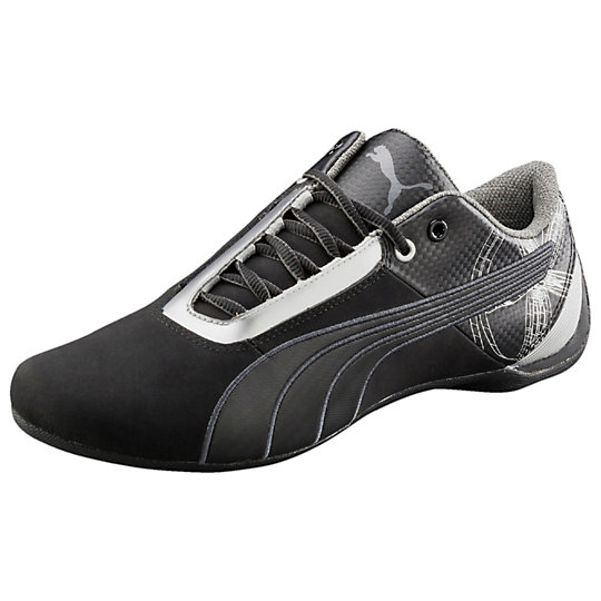 Puma FUTURE CAT S1 GRAPHIC SHOES black-black-dark shadow