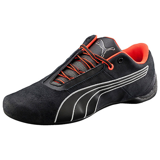 Puma FUTURE CAT S1 NIGHTCAT SHOES black-black-puma silver