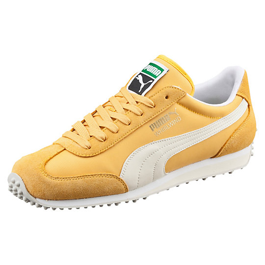 PUMA WHIRLWIND CLASSIC SNEAKERS Bright Gold-Birch