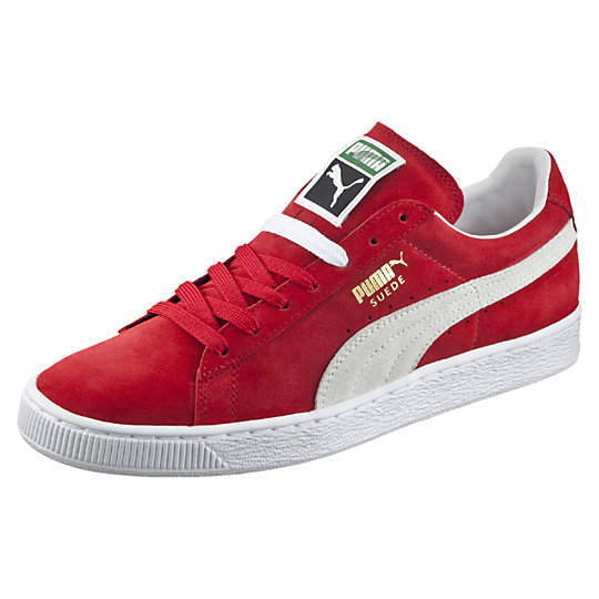 Puma SUEDE CLASSIC SNEAKERS team regal red-white