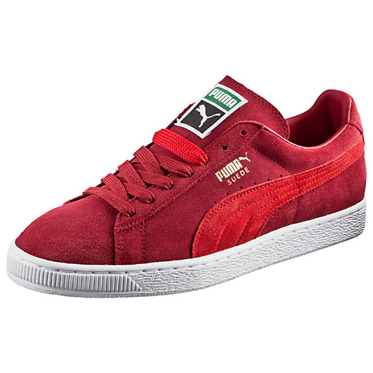 Puma SUEDE CLASSIC SNEAKERS rio red-high risk red