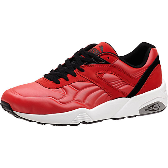 Puma R698 MATTE & SHINE SNEAKERS high risk red-white-black