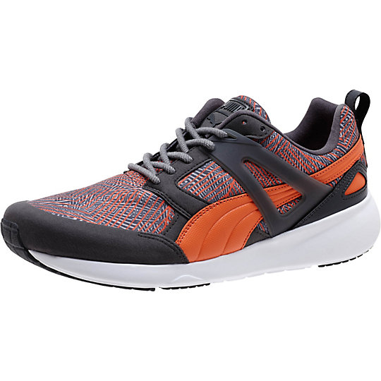 Puma ARIL GRAPHIC SNEAKERS dark shadow-nasturtium