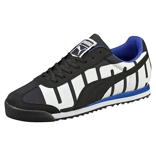 Puma ROMA BIG LOGO SNEAKERS black-white-surf the web