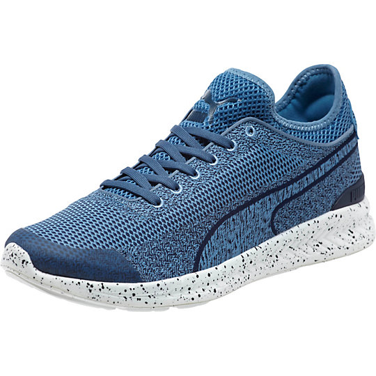 Puma IGNITE SOCK WOVEN SNEAKERS blue heaven-white