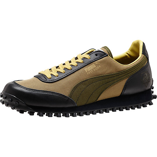 Puma METAL GEAR SOLID V FAST RIDER NYLON SHOES dried herb-phantom black