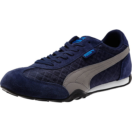 Puma 76 RUNNER QUILTED SNEAKERS BLUE