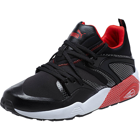 Puma BLAZE OF GLORY CORE SNEAKERS black-high risk red