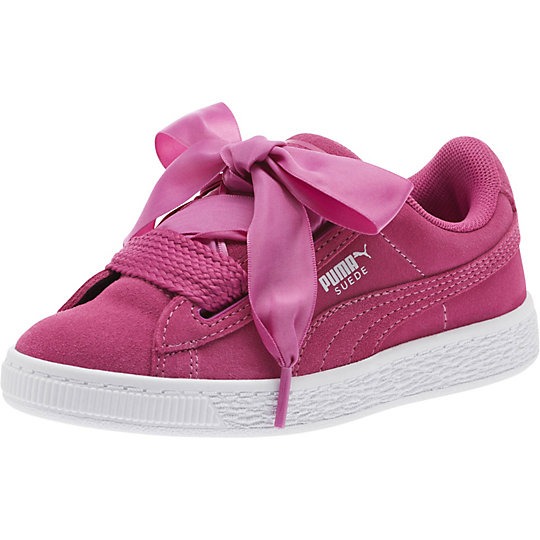 Puma Suede Heart Preschool Sneakers