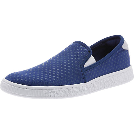 Puma Basket Denim Slip-On Shoes