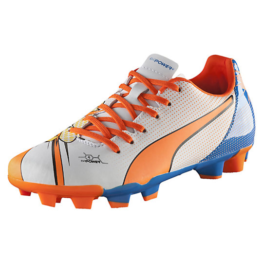 Puma evoPOWER 4.2 POP FG JR Firm Ground Soccer Cleats Shoes