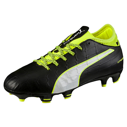 Puma evoTOUCH 3 FG JR Firm Ground Soccer Cleats Shoes