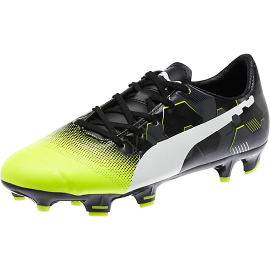 Puma evoPOWER 3.3 Graphic FG JR Firm Ground Soccer Cleats Shoes