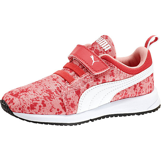 Puma Carson Runner Splat Kids Running Shoes