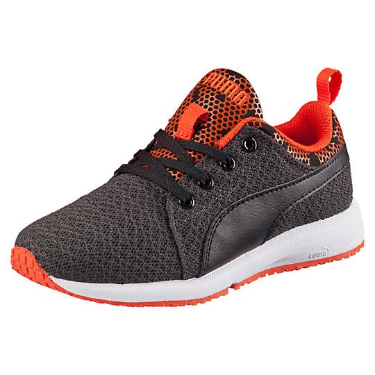 Puma Carson Runner Night Camo Preschool Running Shoes