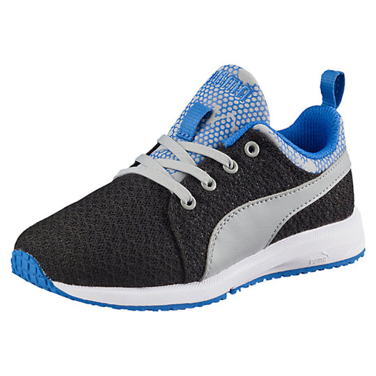 Puma Carson Runner Night Camo Preschool Running Shoes