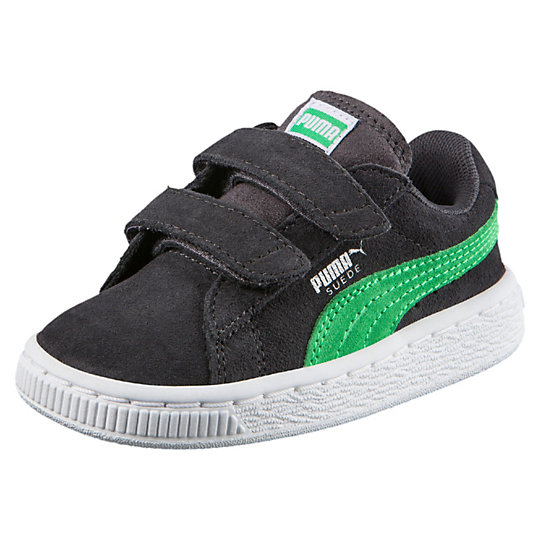 Puma Suede 2-Strap Kids Sneakers