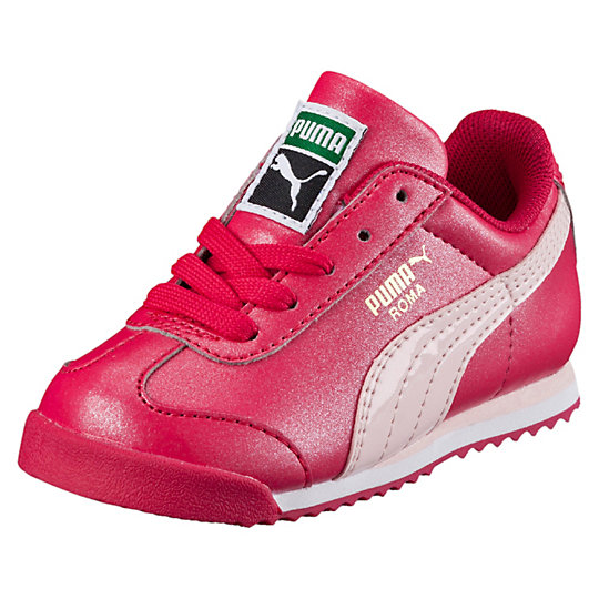 Puma Roma Basic Glitter Kids Sneakers