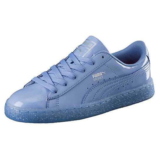 Puma Basket Patent Iced Glitter JR Sneakers