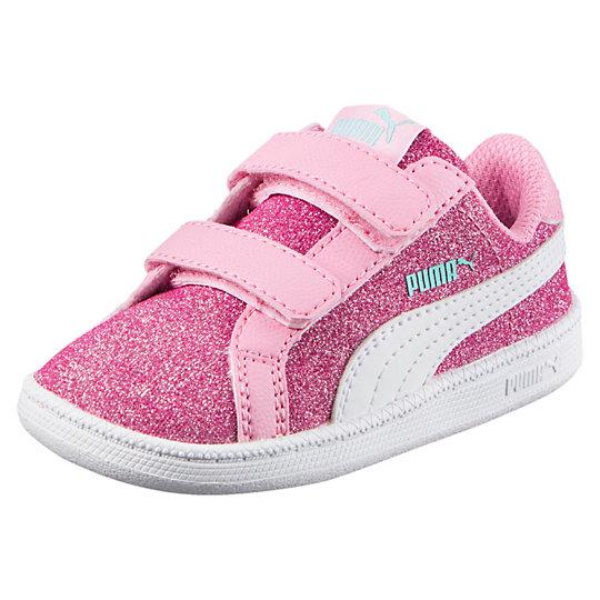 Puma Smash Glitz Glamm V Kids Sneakers