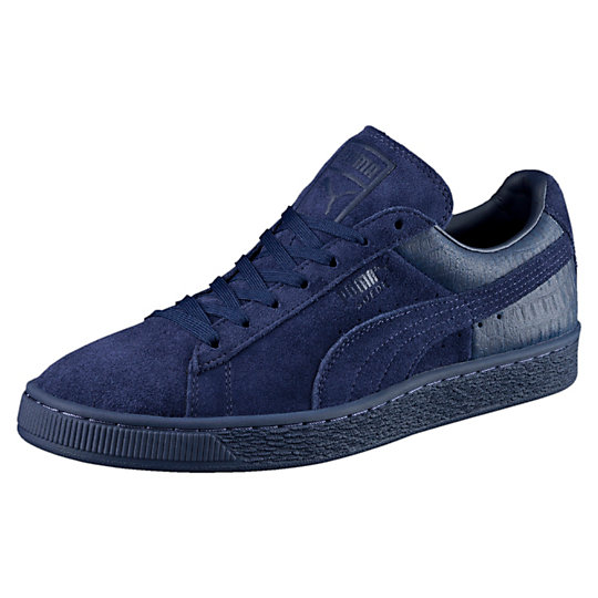 Puma Suede Classic Casual Emboss Men's Sneakers - Click Image to Close
