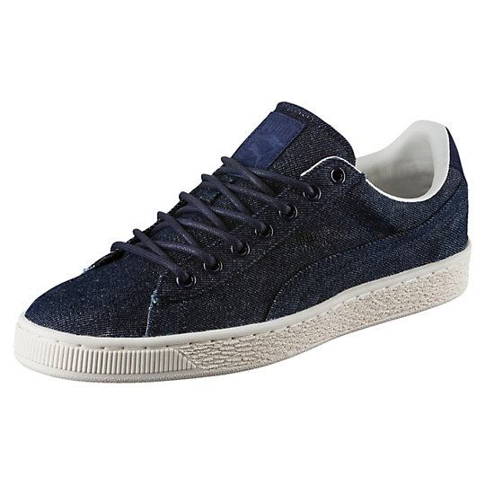 Puma Basket Classic Denim Men's Sneakers