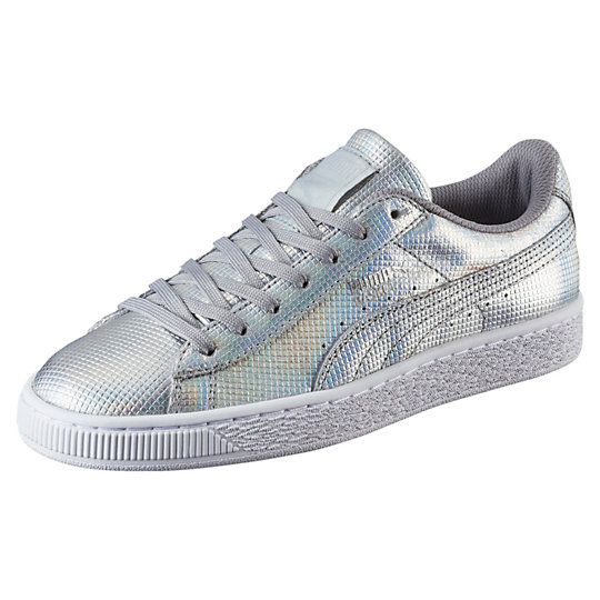 Puma Basket Holographic Women's Sneakers
