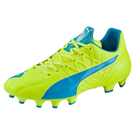 Puma evoSPEED 3.4 Leather FG Men's Firm Ground Soccer Cleats