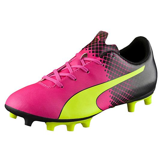 Puma evoSPEED 5.5 Tricks FG JR Firm Ground Soccer Cleats Shoes